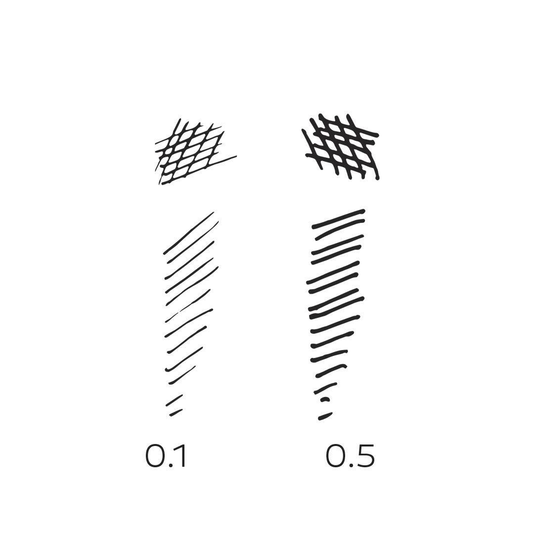 Indexbild 3 - Homehobby-Feine-Spitze-Stifte-0-1-amp-0-5mm
